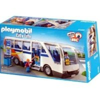 Playmobil 5106 - City Life - Bus d'école radio commandable